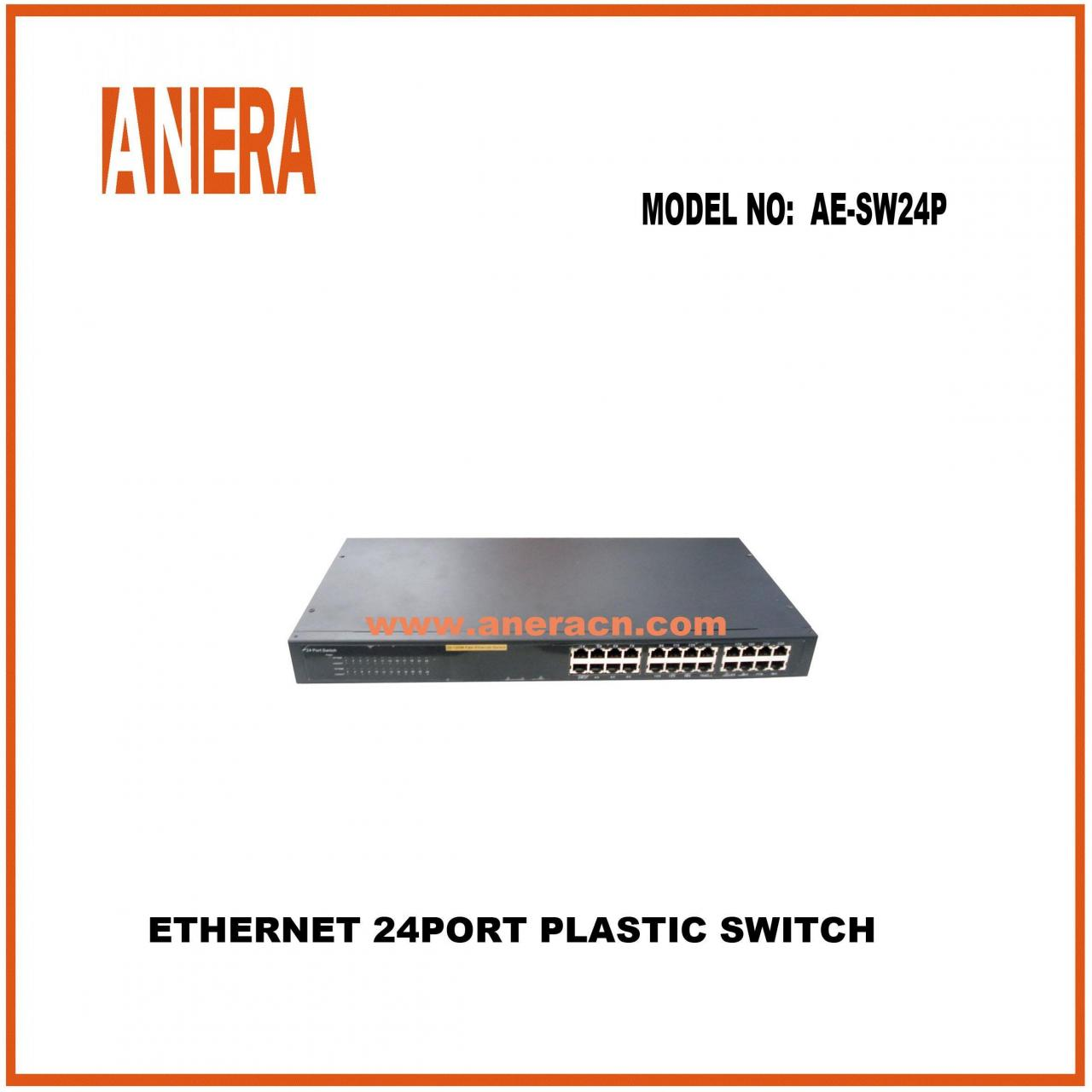 ETHERNET 24PORT SWITCH AE-SW24P-MS