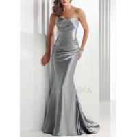 Buy cheap Glamorous Silver Strapless Evening Dresses Online Shopping 6100258 from wholesalers