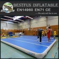 Buy cheap Inflatable Air Track Gymnastics Air Track Drill For Gym from wholesalers