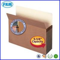 Buy cheap Red rope expanding file pocket folder from wholesalers