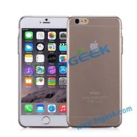 Buy cheap High Quality MOMAX Ultra Thin Series Clear Twist TPU Cover for iPhone 6 Plus - Transparent Black from wholesalers