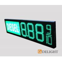 Buy cheap LED Digital Display Gas Station LED Price Signs from wholesalers
