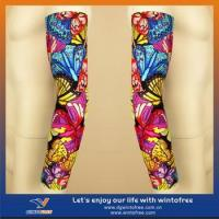 Buy cheap Custom Baseball arm warmers,Fleece fabric polyester/spandex 240gsm,Flat lock stitching from wholesalers