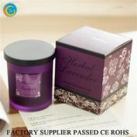 Wholesale Flamless luxury soy scented candles glass jars from china suppliers