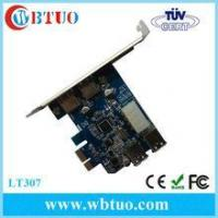 Buy cheap USB 3.0 PCI-E card adapter 4 ports chipset FL1100 from wholesalers