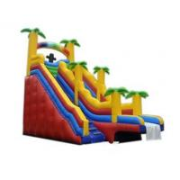 Buy cheap Inflatable Coconut Tree Water Slide For Sea from wholesalers