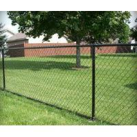 Buy cheap Golden supplier PVC Coated cyclone wire mesh fence Chain link fence from wholesalers