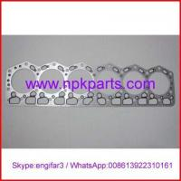 Buy cheap Komatsu engine repair parts 6D110 cylinder head gasket 6138-19-1811/6138-19-1810 from wholesalers