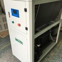 Buy cheap 12000BTU air cooled Packaged chiller with 4 danfoss scroll compressors with R407c refrigerant from wholesalers
