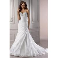 Buy cheap Ruching Court Train Taffeta Bust Sweetheart Wedding Dress from wholesalers