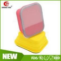 Buy cheap Personalized Rectangular collapsible silicone lunch box for kids from wholesalers