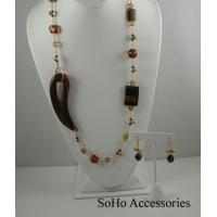 Necklaces Tiger Eye Necklace Set Manufactures