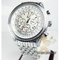 Buy cheap Techno Com Kc Diamond Fully Iced Out Watch 9.50ct from wholesalers