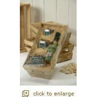 Buy cheap Organic Popcorn Wooden Crate Gift Set from wholesalers