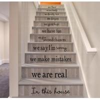 Buy cheap Stair decorative wall stickers from wholesalers