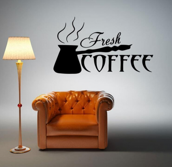 Quality Coffee shop decorative wall stickers for sale