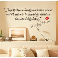 Buy cheap Poetry decorative vinyl wall stickers from wholesalers