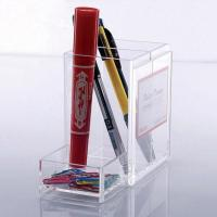 Buy cheap Brochure and Leaflet Holder Acrylic Stationery Display Stand from wholesalers