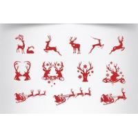 Buy cheap Christmas decorative window stickers for sale product