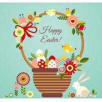 Wholesale Easter series decorative wall stickers from china suppliers
