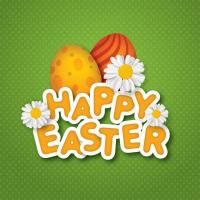 Wholesale Happy easter decorative wall stickers from china suppliers