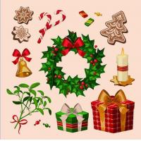 Buy cheap Christmas series decorative window stickers product