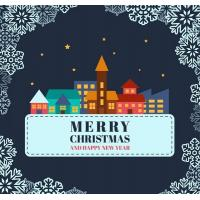 Wholesale Christmas decorative glass window stickers from china suppliers