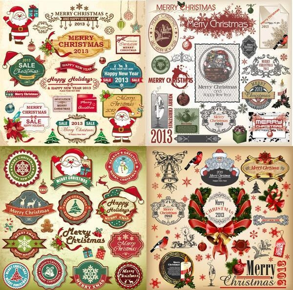 Quality Christmas decorative stickers for sale