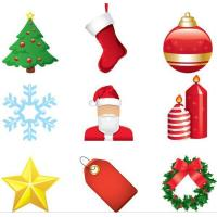Wholesale Christmas decorative window stickers from china suppliers