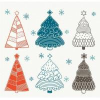 Buy cheap Christmas tree decorative window stickers from wholesalers