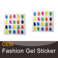 Buy cheap High-quality and eco-friendly window gel art sticker product