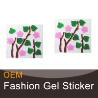 Buy cheap Flowers decorative gel windows stickers from wholesalers
