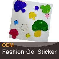 Buy cheap Childrens gel stickers with glitter product