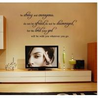 Wholesale English poetry decorative wall stickers from china suppliers