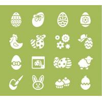 Wholesale Cute wall sticker for easter from china suppliers