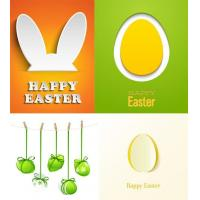 Wholesale Happy easter decorative wall stickers for kids from china suppliers