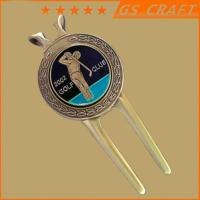 Buy cheap golf divot with personal portrait from wholesalers