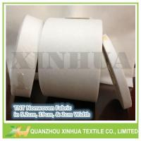 Buy cheap Min. 2cm Width Small Non Woven Fabric Roll Package:Rolled with tube,packed by polybag from wholesalers
