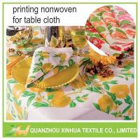 Printed TNT Non Woven Table Cover Tablecloths Model:XHNT-014 Manufactures