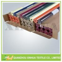 Eco-friendly Colorful Non Woven Tablecloth Roll Model:XHNT-008 Manufactures