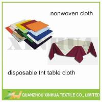 Wholesale Environment Friendly Spunbond Nonwoven Table Cloth Model:XHNT-003 from china suppliers