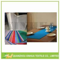 Supply Disposable TNT Nonwoven Tablecloth Model:XHNT-001 Manufactures