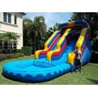 Buy cheap water slide with pool from wholesalers
