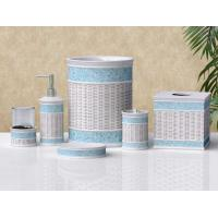 Buy cheap Heartbreak Glass Series Polyresin Bathroom set from wholesalers