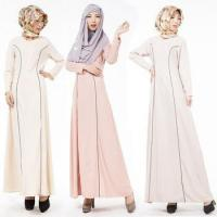 2016 Aliexpress hot design long sleeves O neck casual muslim clothing for women MSL0020
