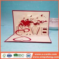 Buy cheap Handmade Card Pop Up Thank You Card Template Free from wholesalers