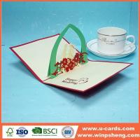 Buy cheap Handmade Card Amazing 3d Heart Pop Up Valentine Cards Template from wholesalers