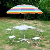 Buy cheap TLT-TB-016ALUMINIUM SQUARE OUTDOOR FLODING TABLE from wholesalers