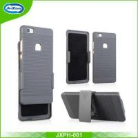 Buy cheap Rubberized Printable Armor Phone Stand Cover Case for Huawei P8 Lite product