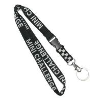 Buy cheap Retractable Woven Polyester Lanyard For Exhibition , Key Ring Lanyards from wholesalers